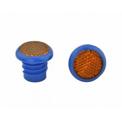 Grips End Reflector Blue